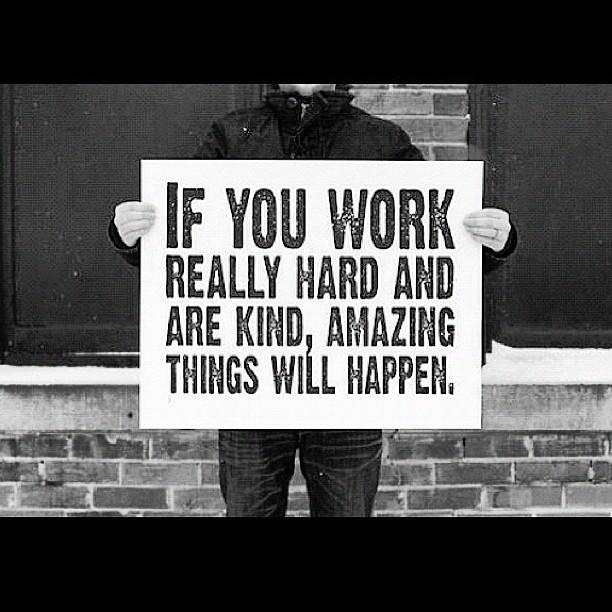 Work it Baby!