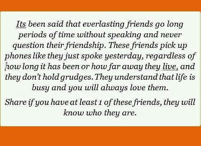 Everlasting Friendship