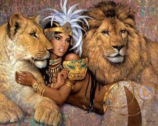 Goddess-lioness