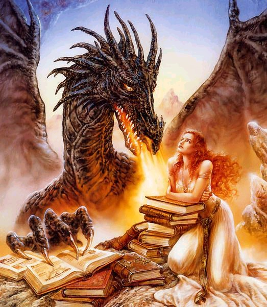 Persian Dragon Azhi Dahak Storm Demon & Maiden